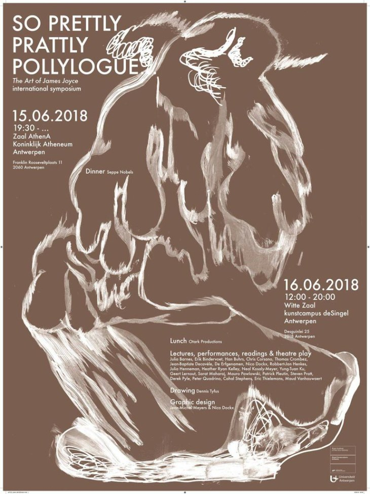 The Art of James Joyce International symposium 15th + 16th June 2018