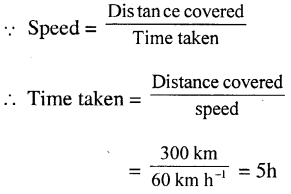 Selina Concise Physics Class 7 ICSE Solutions - Motion 11