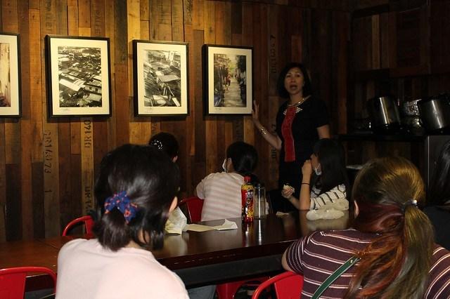 從「阿美米干」牆壁上裝飾的異域故事,學生可以體驗台灣文豪柏楊筆下「異域孤軍」的艱苦歷程1