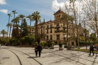 Het Hotel Alfonso XIII.
