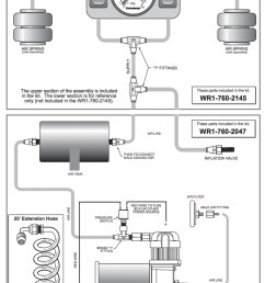 connect the air tubing to the control panel here is a quick reference from firestone install manual  [ 841 x 1200 Pixel ]