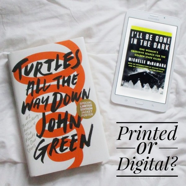 Printed or Digital? | DarlaOct.com