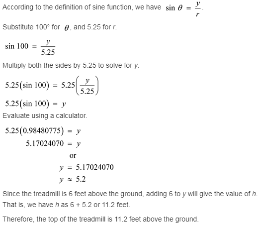 larson-algebra-2-solutions-chapter-13-trigonometric-ratios-functions-exercise-13-3-11gp1