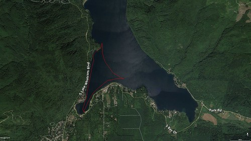 Lake Whatcom Paddle Route