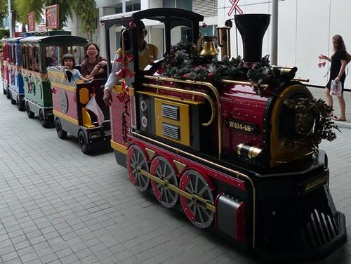 Singapore Christmas-Train