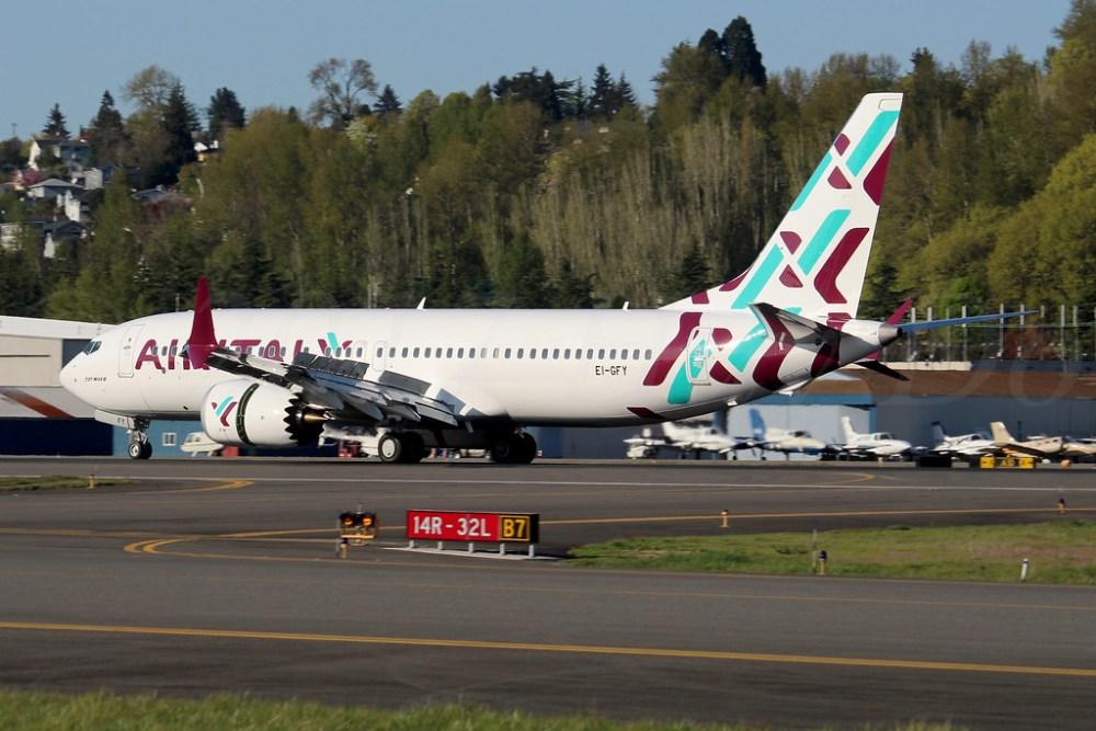 Boeing 737 MAX 8 Air Italy EI-GFY LN6893