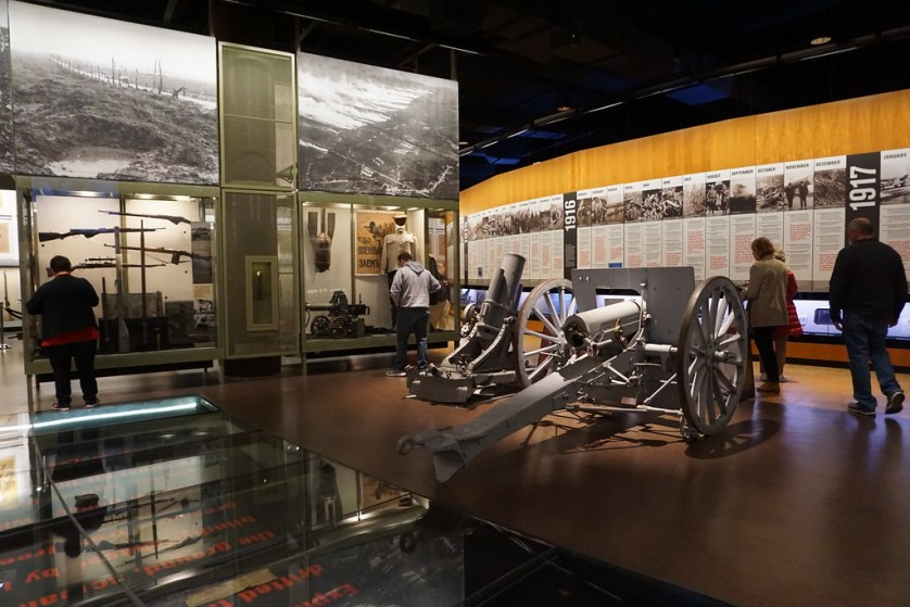 Inside the National WWI Museum and Memorial in Kansas City, Mo., April 20, 2018.