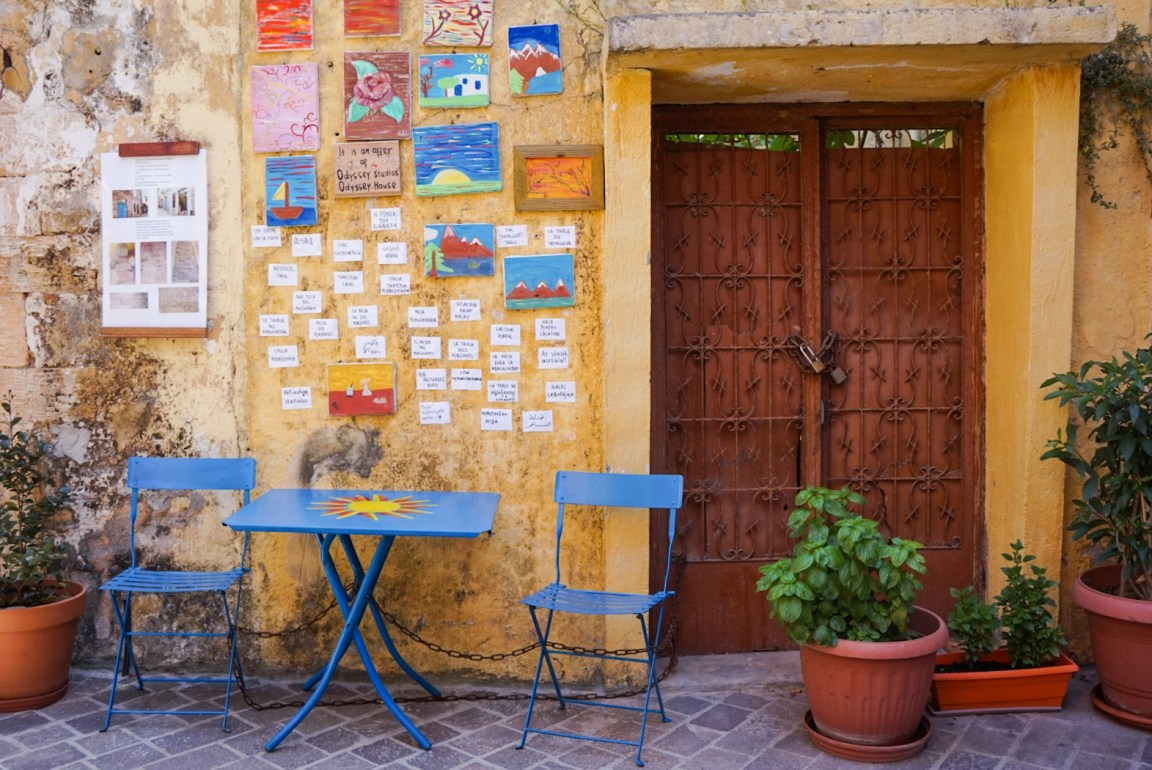 Vuosi Kreetalla puolessa välissä