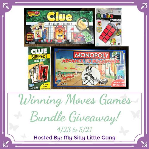 Winning Moves Games Bundle Giveaway