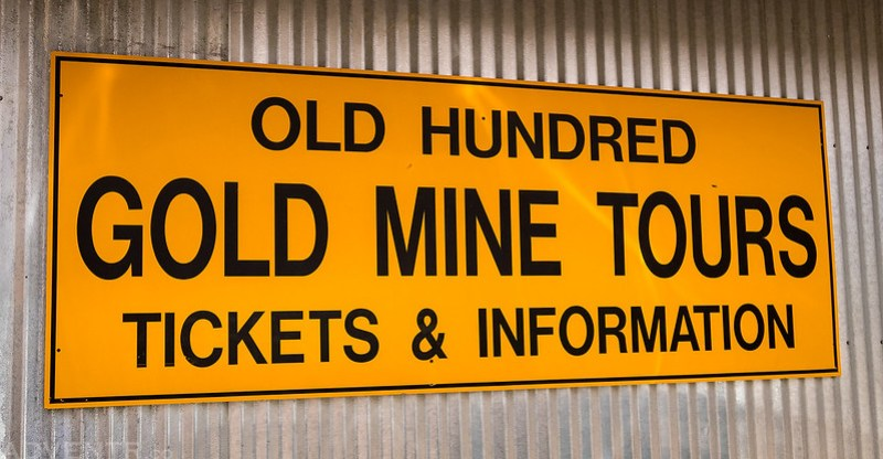 Old Hundred Gold Mine Tours