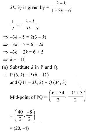 Selina Concise Mathematics Class 10 ICSE Solutions Chapter 14 Equation of a Line Ex 14E 40