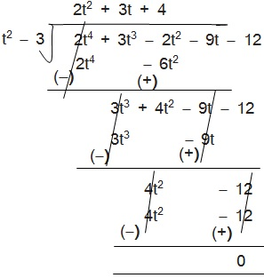 Maths Solutions For Class 10 NCERT Hindi Medium Chapter 2 Polynomial 2.3 29