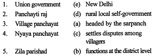 ICSE Solutions for Class 6 History and Civics - Rural Local Self-Government-01