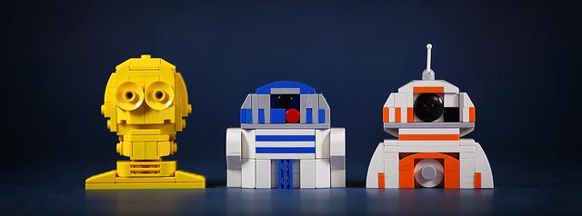 Mini bustes LEGO Star Wars