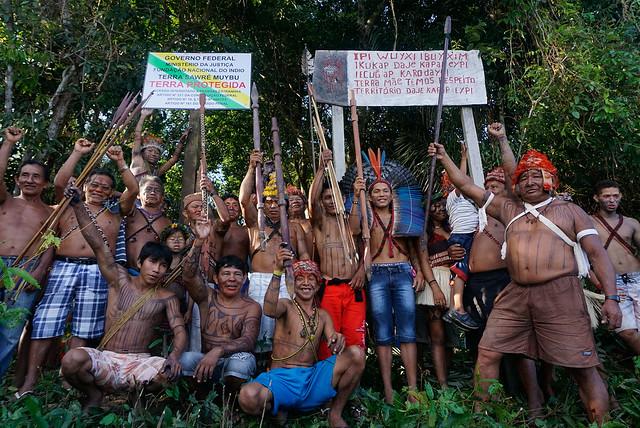 Na região por onde passa o rio Tapajós vivem comunidades ribeirinhas e povos indígenas  - Créditos: Foto: Greenpeace