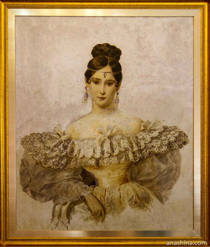 Наталья Николаевна Пушкина (урожд. Гончарова)