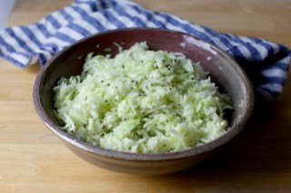 tangy shredded cabbage salad