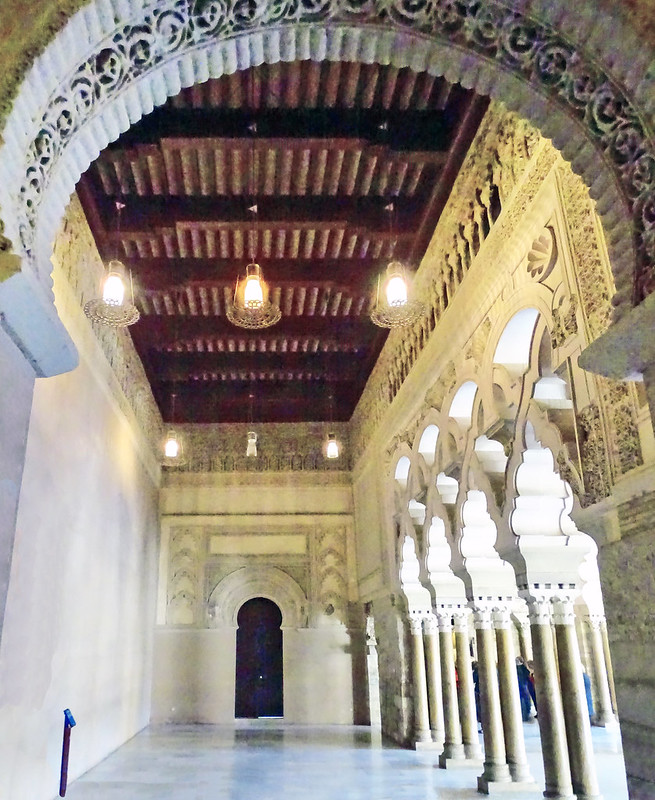 artesonado Salon Dorado Palacio Aljaferia Zaragoza 01