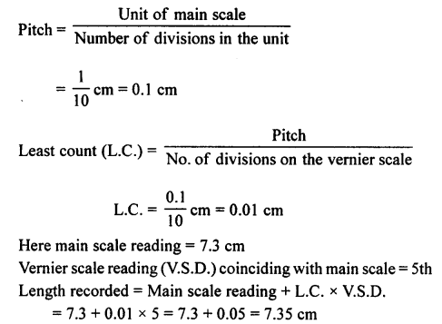 A New Approach to ICSE Physics Part 1 Class 9 Solutions Measurements and Experimentation 23.1