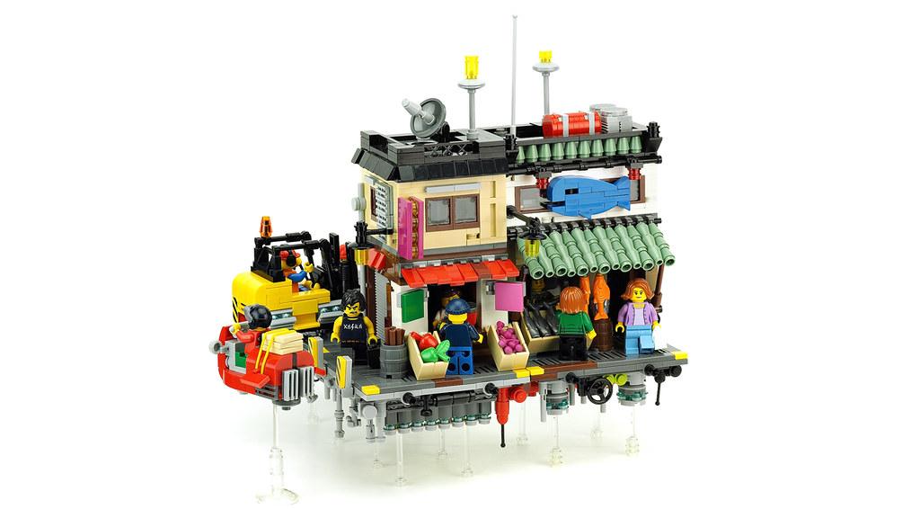 AirCity - Seafood shop