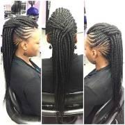ghanaian braids & updos