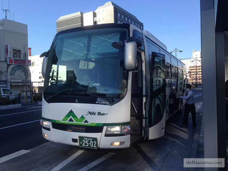 Babymoon ke Jepang - Nohi Bus