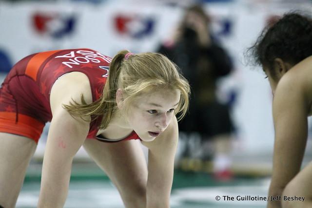 100 pounds Emily Shilson of Minnesota 180717CJF0057