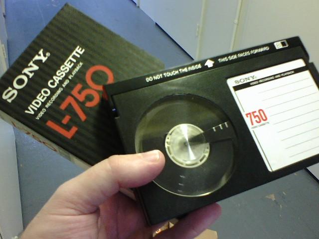 Beta video cassette  Flickr  Photo Sharing