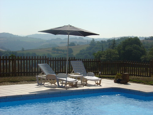 La Peyrecout - Swimming Pool with View (single chair)