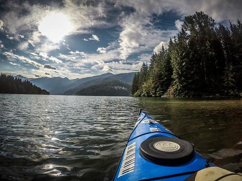Kayaking on Baker Lake-47