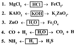 New Simplified Chemistry Class 9 ICSE Solutions - Study of The First Element - Hydrogen 14.2