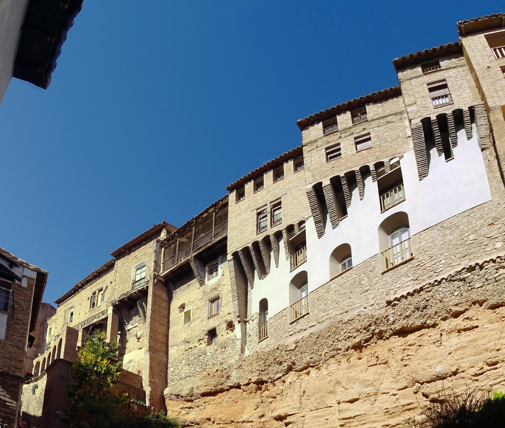 Casas Colgadas Barrio Judio Tarazona Zaragoza 05