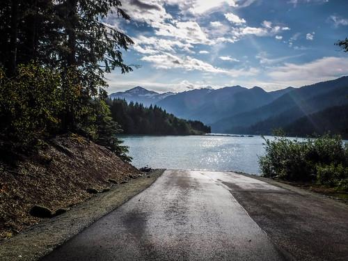 Kayaking on Baker Lake-39