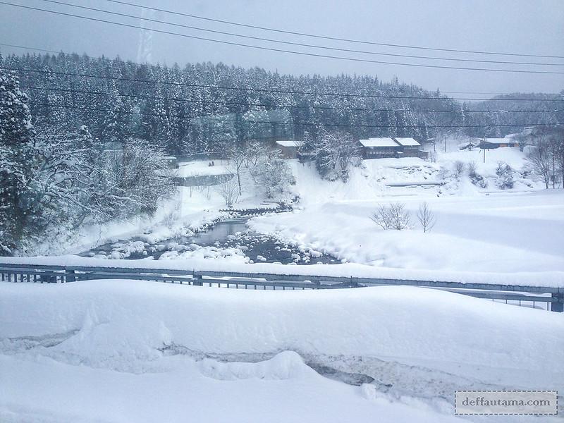 Babymoon ke Jepang - Salju Lebat