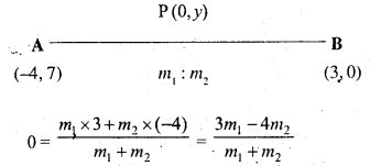 Selina Concise Mathematics Class 10 ICSE Solutions Chapter 13 Section and Mid-Point Formula Ex 13A 7