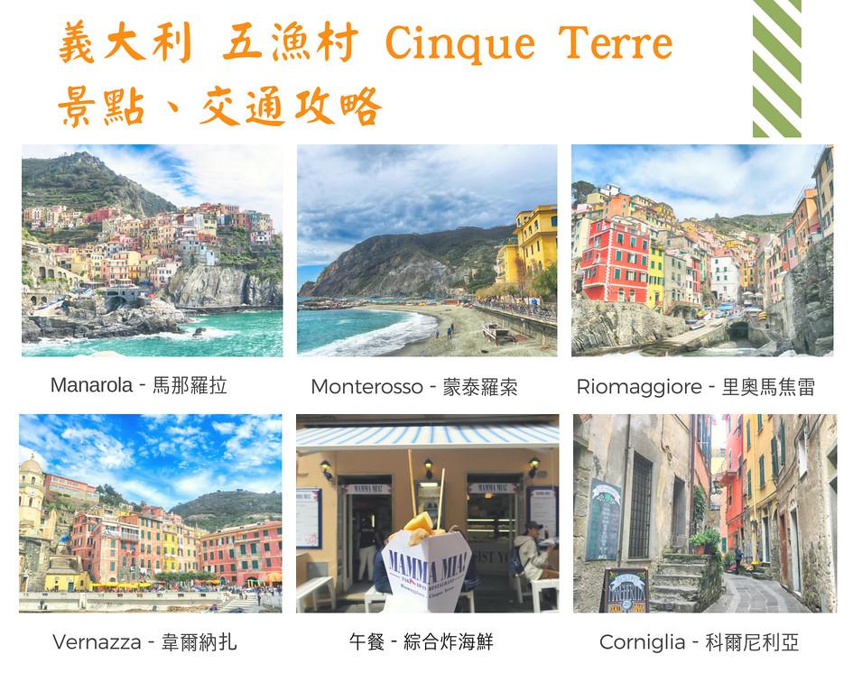 【2018義大利自由行】五漁村景點,交通一日遊攻略。來義大利不可錯過的絕世美景-Slide阿滑-欣傳媒旅遊頻道