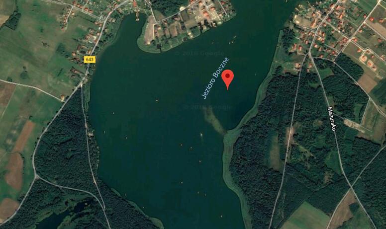 Jezioro Boczne – Mapy Google