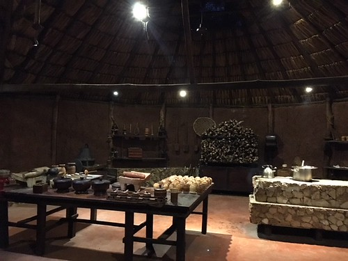 Chocolate Museum tasting area. From Exploring the Ecoparque Museo del Chocolate in Uxmal, Mexico