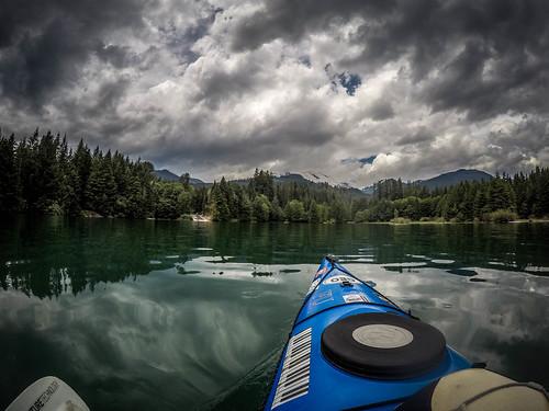 Kayaking on Baker Lake-163
