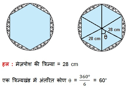 CBSE NCERT Solutions For Class 10 Maths Hindi Medium Areas Related to Circles 31