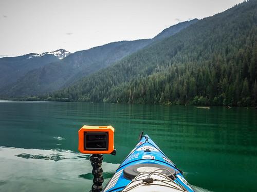 Kayaking on Baker Lake-127