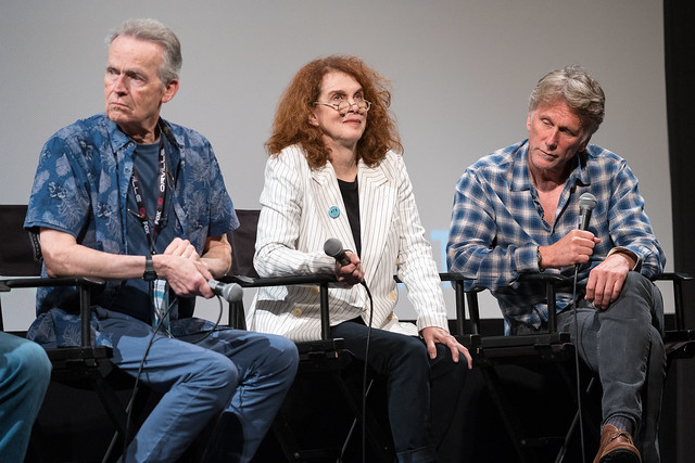 David Clennon, Melanie Mayron and Peter Horton