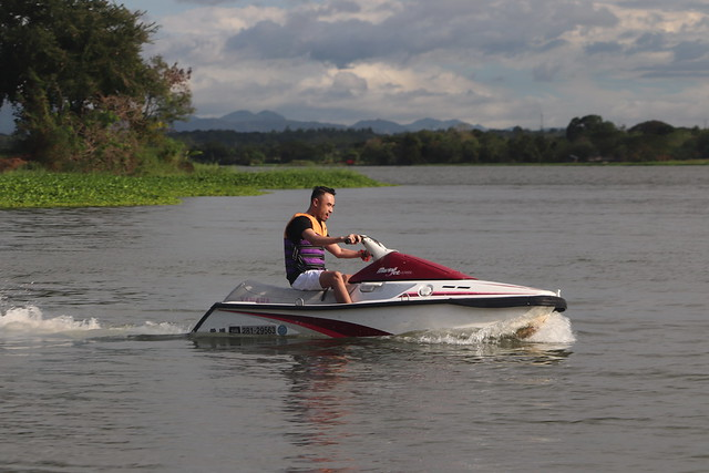 Jetski at San Rafael River Adventure