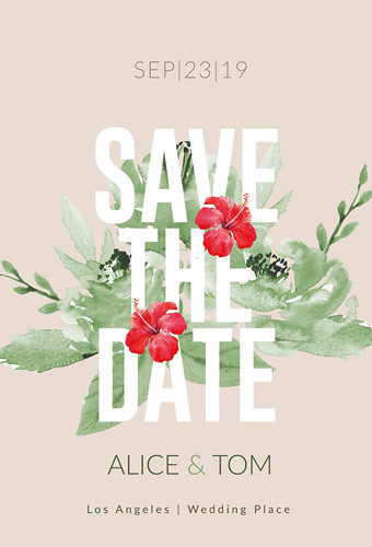 Wedding - Save the Date Card