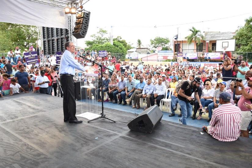 Encuentro de apoyo, cierre recorrido Puerto Plata 17 de junio  2018