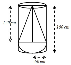 NCERT Solutions For Maths Class 10 Surface Areas and Volumes 13.1 32