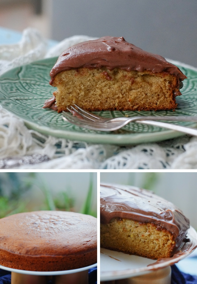 Cordon Rose Banana Cake on notjustspice.com