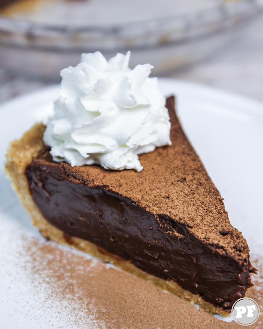 Torta de Chocolate Super Cremosa Sem Forno