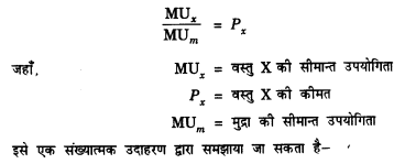 NCERT Solutions for Class 12 Microeconomics Chapter 2 Theory of Consumer Behavior (Hindi Medium) saq 3