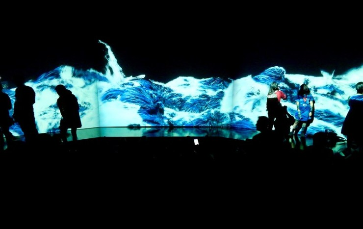 teamLab at ArtScience Museum: Future World
